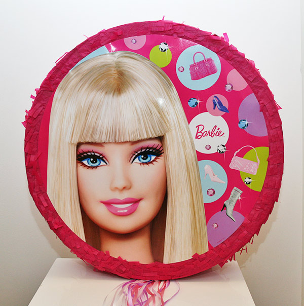 Licensed Partyware By Product Pinatas Barbie Pinata
